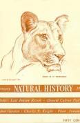 Natural History Feb. 1938 cover
