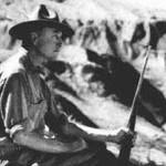 Roy Chapman Andrews in the Gobi Desert